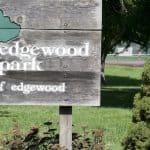 Edgewood park sign