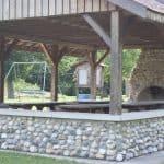 Edgewood park picnic pavilion