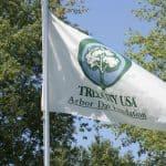Tree City USA Arbor Day Foundation flag
