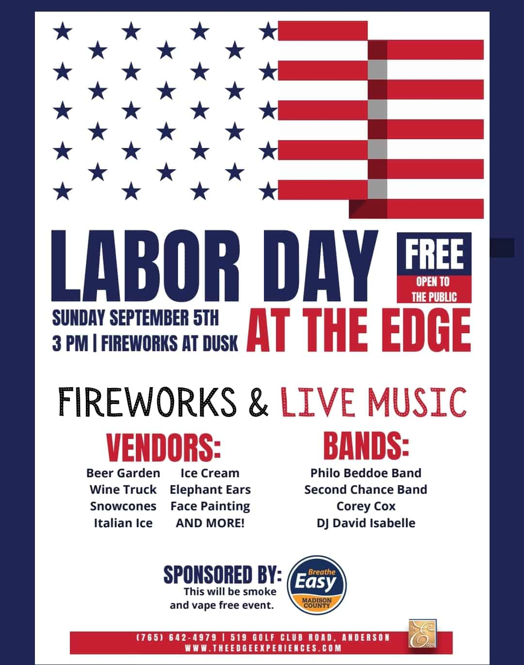Town Edgewood Labor Day